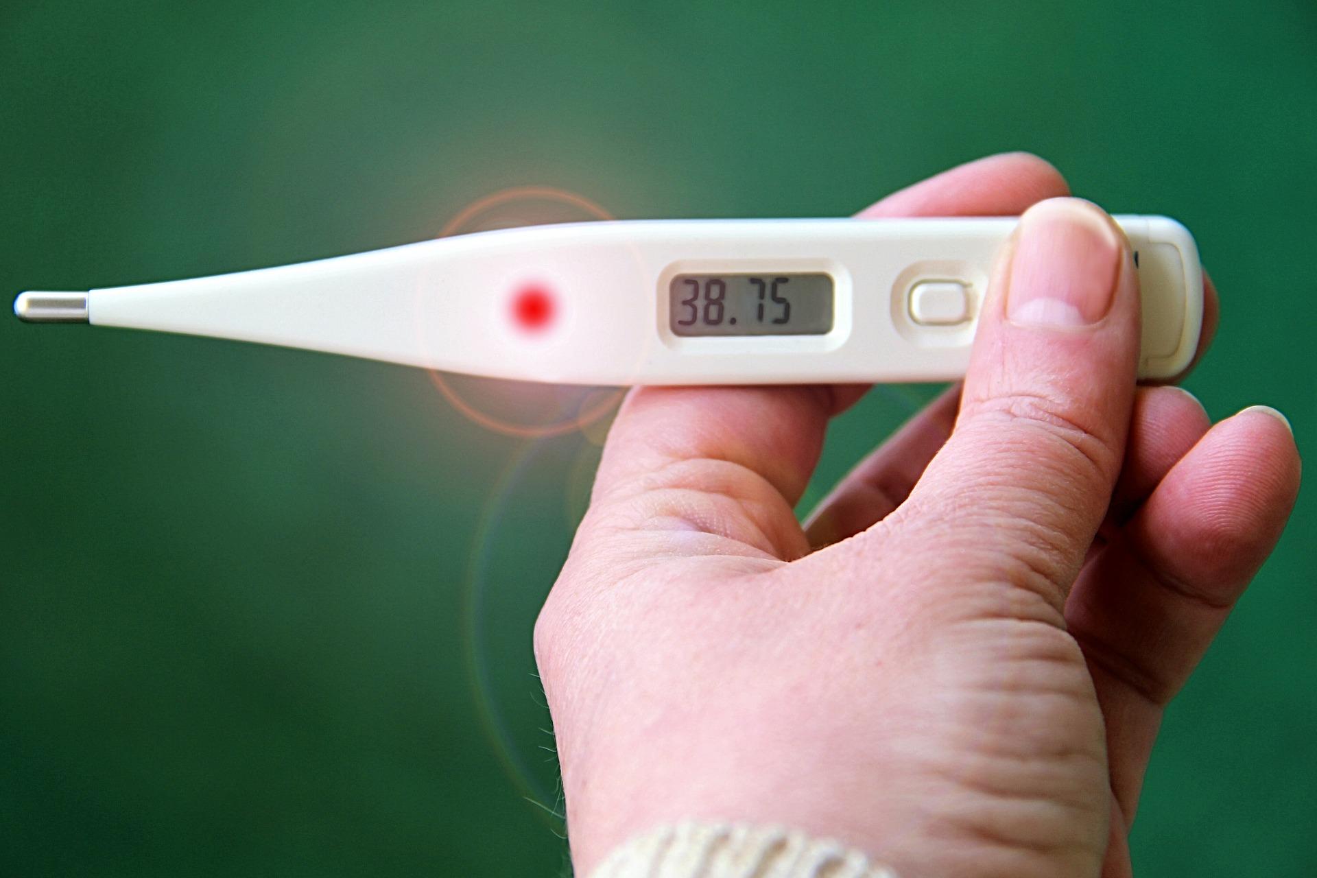 孕期发烧了怎么办?